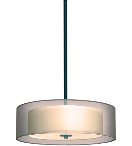 Sonneman Puri 3 Light Pendant in Black Brass 6021.51 photo