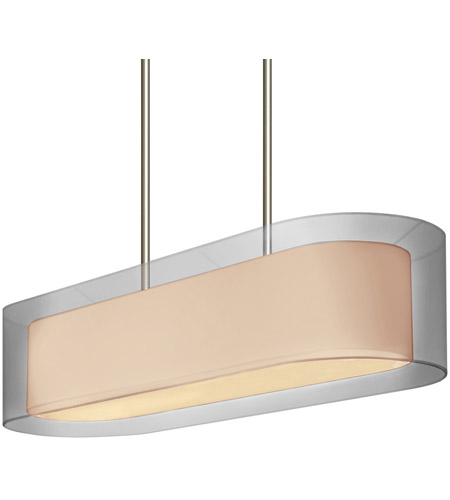 Sonneman Puri 4 Light Pendant in Satin Nickel 6023.13 photo