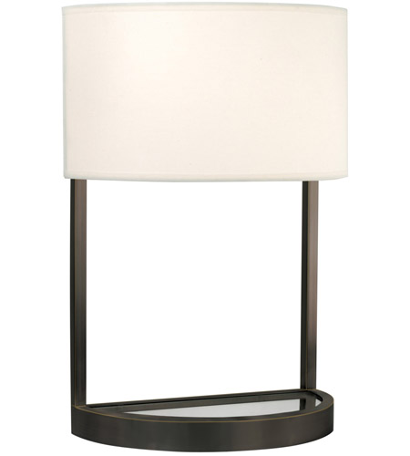 Sonneman Hemi 2 Light Table Lamp in Black Brass 6030.51 photo