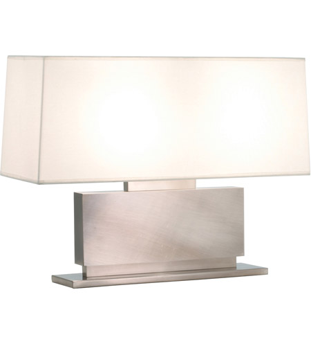 Sonneman Plinth 2 Light Table Lamp in Black Nickel 6055.50 photo
