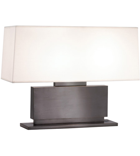Sonneman Plinth 2 Light Table Lamp in Black Brass 6055.51 photo
