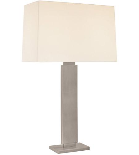 Sonneman Lighting Plinth 2 Light Table Lamp in Black Nickel 6056.50 photo