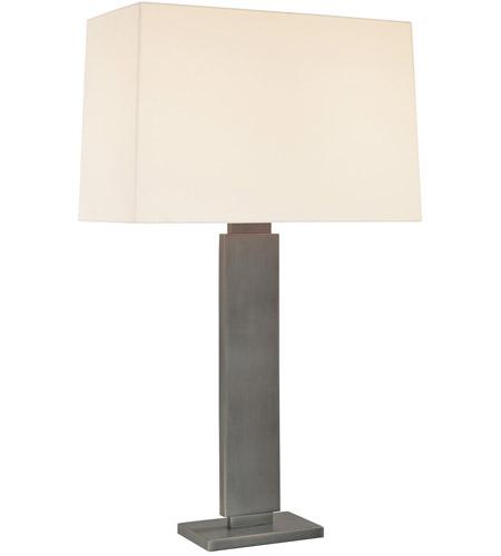 Sonneman Lighting Plinth 2 Light Table Lamp in Black Brass 6056.51 photo