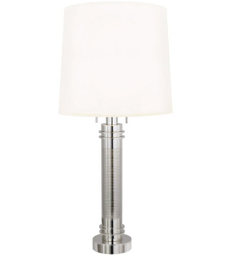 Sonneman Lighting Colonna 2 Light Table Lamp in Polished Nickel 6110.35 photo
