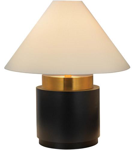 Sonneman Lighting Tondo 4 Light Table Lamp in Natural Brass & Black 6127.43 photo