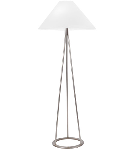 Sonneman Tetra 1 Light Floor Lamp in Satin Nickel 6231.13 photo