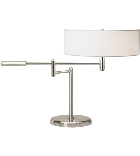 Sonneman Perno 2 Light Table Lamp in Polished Nickel 7000.35 photo