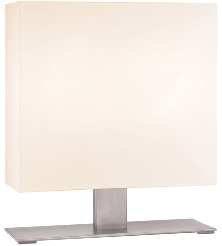 Sonneman Mitra 2 Light Table Lamp in Satin Nickel 7021.13F photo