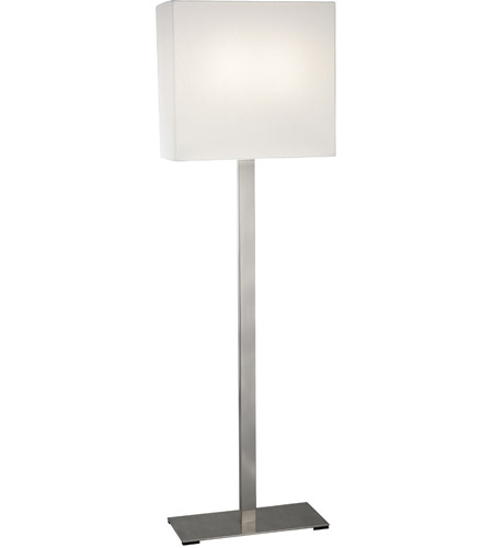 Sonneman Mitra 2 Light Floor Lamp in Satin Nickel 7023.13F photo