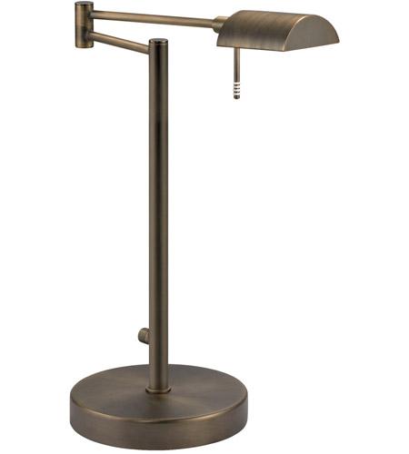 Sonneman D-Lite 1 Light Table Lamp in Europa Bronze 7035.29 photo