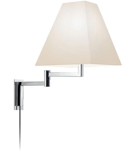Sonneman Square 1 Light Sconce in Polished Chrome 7070.01 photo