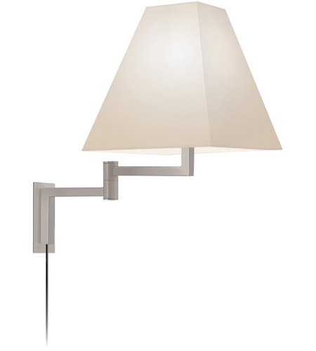 Sonneman Square 1 Light Sconce in Satin Nickel 7070.13 photo