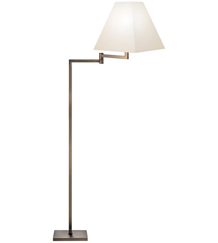 Sonneman Square 1 Light Floor Lamp in Europa Bronze 7076.29 photo