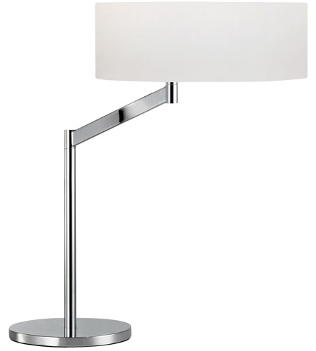 Sonneman 7082.01 Perch 23 inch 150 watt Polished Chrome Table Lamp Portable Light photo