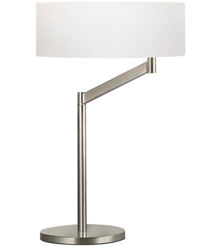 Sonneman 7082.13 Perch 23 inch 150 watt Satin Nickel Table Lamp Portable Light photo