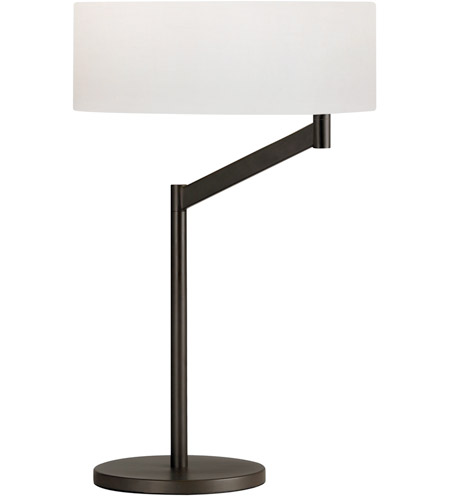 Sonneman Perch 1 Light Table Lamp In Coffee Bronze 7082 27