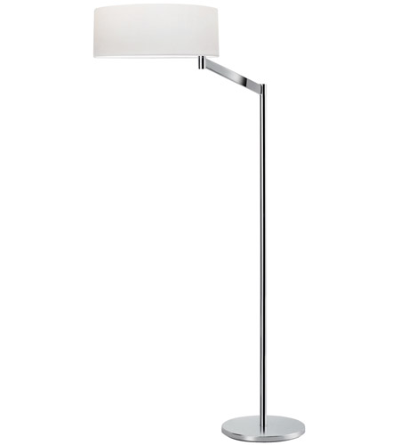 Sonneman Perch 1 Light Floor Lamp in Polished chrome 7083.01 photo