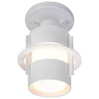 Sonneman Lighting Aereo 1 Light Surface Mount in Satin White 1690.03F