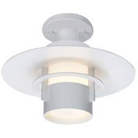 Sonneman Lighting Aereo 1 Light Surface Mount in Satin White 1691.03F