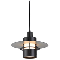 Sonneman Lighting Aereo 1 Light Pendant in Black Bronze 1704.32F