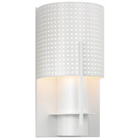 Sonneman Lighting Oberon 1 Light Sconce in Satin White 1710.03MF