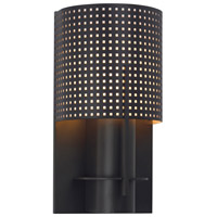 Oberon 1 Light 6 inch Black Bronze ADA Sconce Wall Light