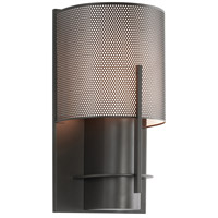Sonneman Lighting Oberon 1 Light Sconce in Black Bronze 1710.32PF
