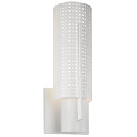 Sonneman Lighting Oberon 1 Light Sconce in Satin White 1711.03MF