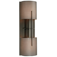 Sonneman Lighting Oberon 2 Light Sconce in Black Bronze 1712.32PF