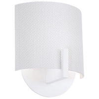 Sonneman Scudo 1 Light Sconce in Satin White 1728.03P