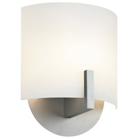 Sonneman Lighting Scudo 1 Light Sconce in Satin Silver 1728.04F