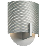 Sonneman Lighting Scudo 1 Light Sconce in Satin Silver 1728.04PF