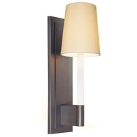 Sonneman Sottile 1 Light Sconce in Rubbed Bronze 1812.24W photo thumbnail