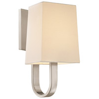 Sonneman 1821.13 Cappio 1 Light 6 inch Satin Nickel Sconce Wall Light in Candelabra photo thumbnail