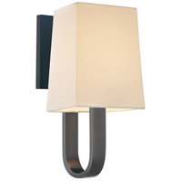 Cappio 1 Light 6 inch Rubbed Bronze Sconce Wall Light in Candelabra