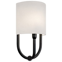 Sonneman Intermezzo 1 Light Sconce in Rubbed Bronze 1833.24