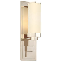 Scala 1 Light 5 inch Polished Nickel Sconce Wall Light