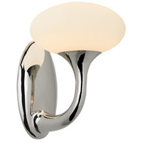 Bella 1 Light 6 inch Polished Nickel Sconce Wall Light