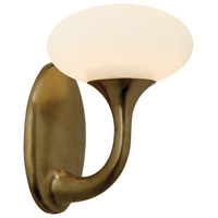 Sonneman Bella 1 Light Sconce in Natural Brass 1836.42