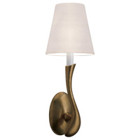 Sonneman Allure 1 Light Sconce in Natural Brass 1837.42