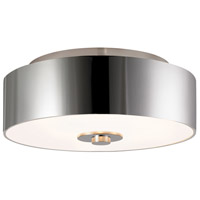 Sonneman Lighting Rollo 3 Light Surface Mount in Polished Nickel 1874.35