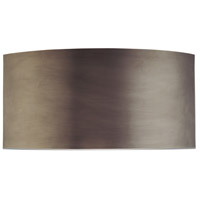 Dianelli 2 Light 16 inch Rubbed Bronze ADA Sconce Wall Light in GU24