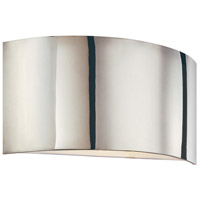 Dianelli 2 Light 16 inch Polished Nickel ADA Sconce Wall Light