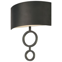 Sonneman Dianelli 2 Light Sconce in Rubbed Bronze 1881.24F