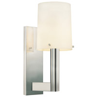 Sonneman Calmo-Retta 1 Light Sconce in Polished Nickel 1912.35
