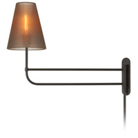 Sonneman Bistro 1 Light Sconce in Black Bronze 1961.32