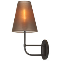 Sonneman Bistro 1 Light Sconce in Black Bronze 1962.32