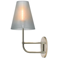 Sonneman Bistro 1 Light Sconce in Polished Nickel 1962.35