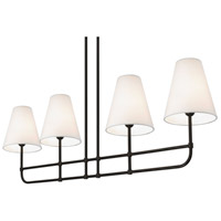Sonneman Bistro 4 Light Pendant in Black Bronze 1964.32OL