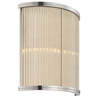Rivoli 2 Light 11 inch Polished Nickel ADA Sconce Wall Light